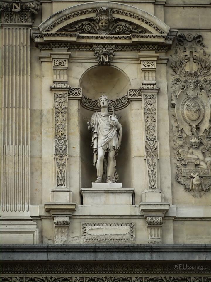 Statue of Apollo at the Louvre,Paris