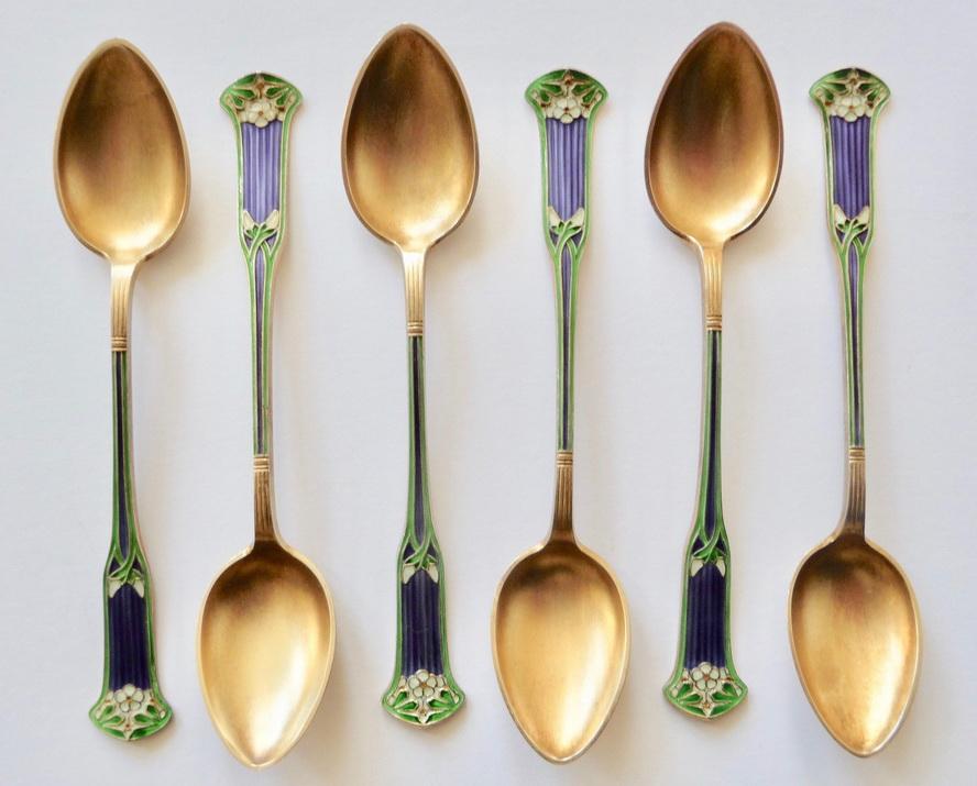 Art Nouveau Spoons