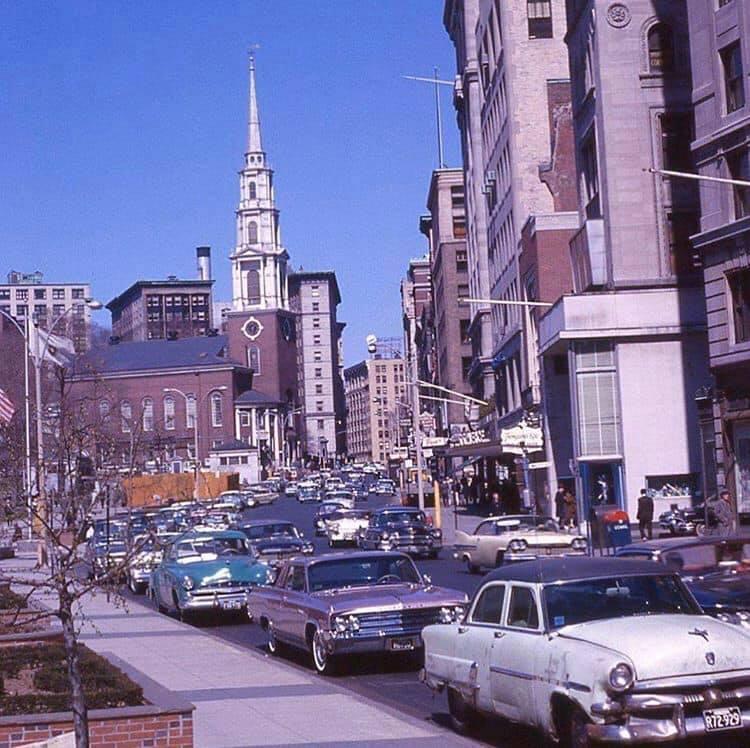 Tremont Street, Boston,1950s