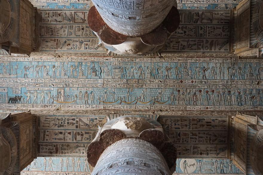 Ancient Egyptian ceilingart