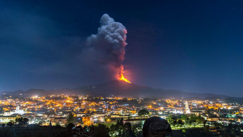 Mount Etna, Sicily,Italy