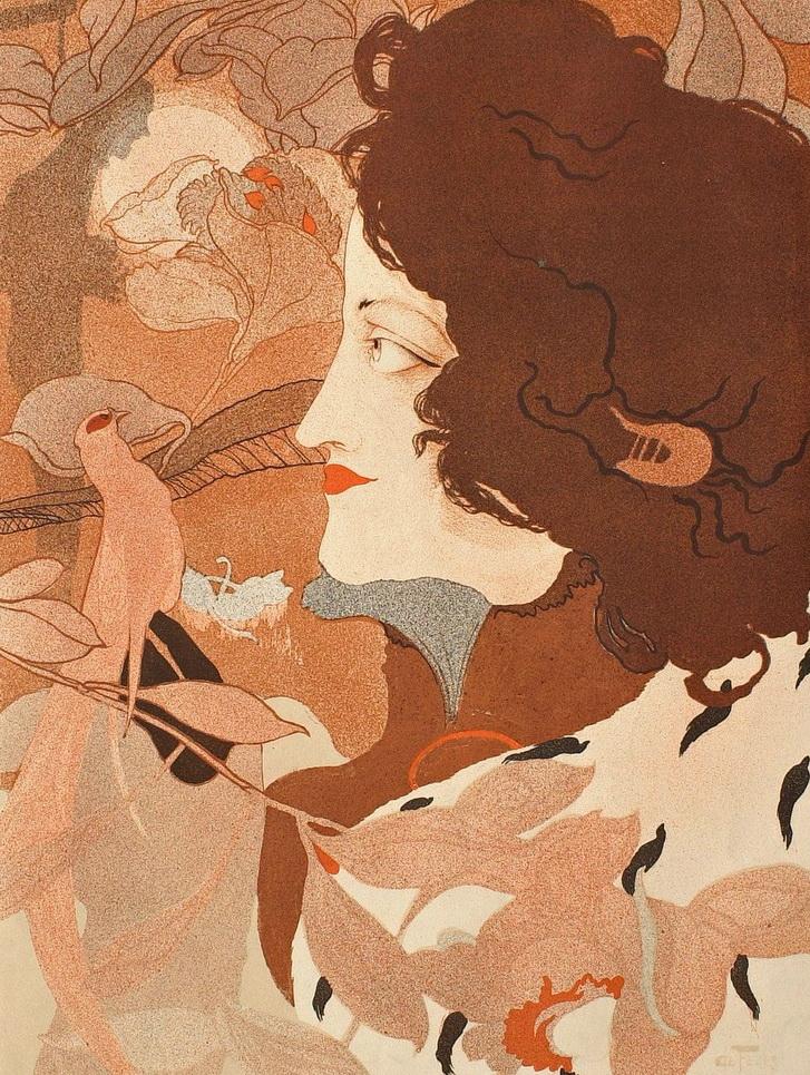 Art Nouveau artwork by Georges deFeure