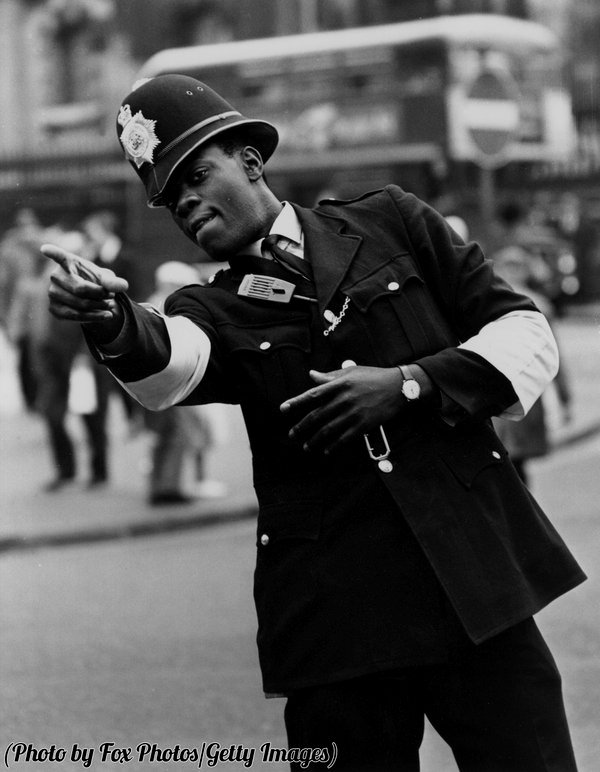 Norwell Roberts, London's first black police officer,1967