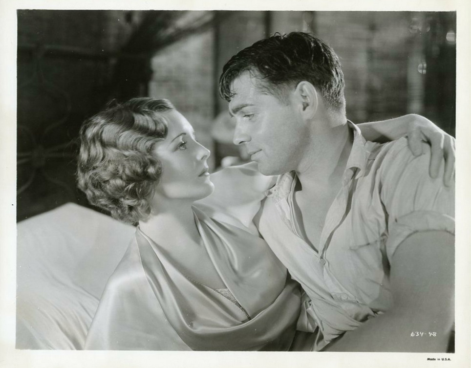 """Mary Astor and Clark Gable in """"Red Dust"""",1932"""