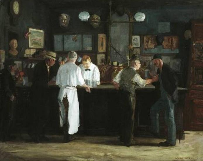 """McSorley's Bar"" by John FrenchSloan"