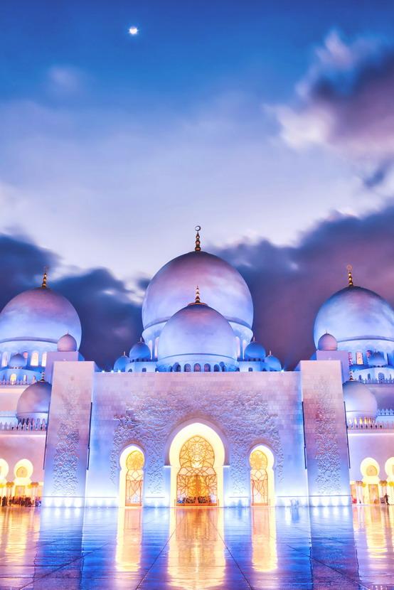 Sheikh Zayed Grand Mosque, Abu Dhabi, United ArabEmirates