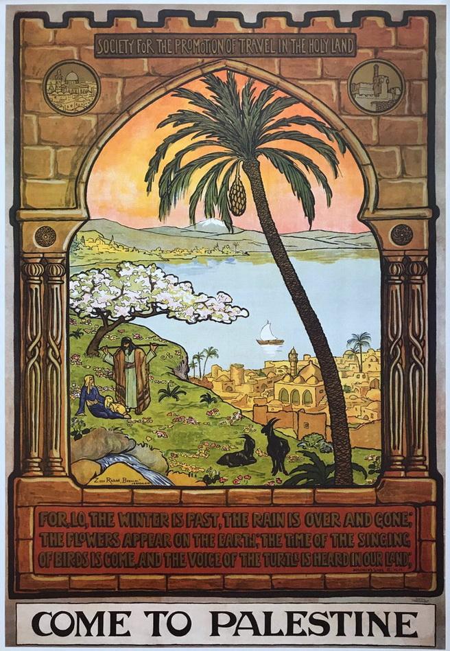 Come to Palestine,1929