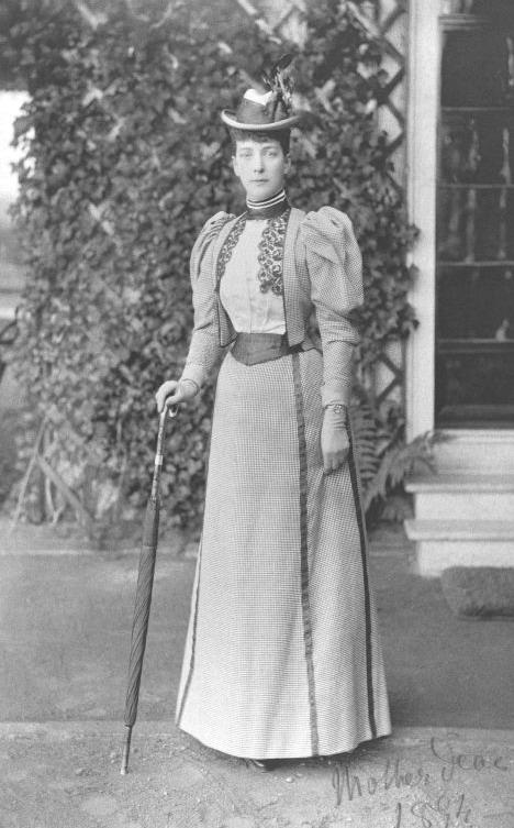 Princess of Wales, later Queen Alexandra, UK,1890s