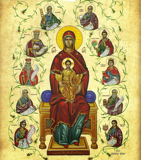 Greek Orthodox Mary & BabyJesus