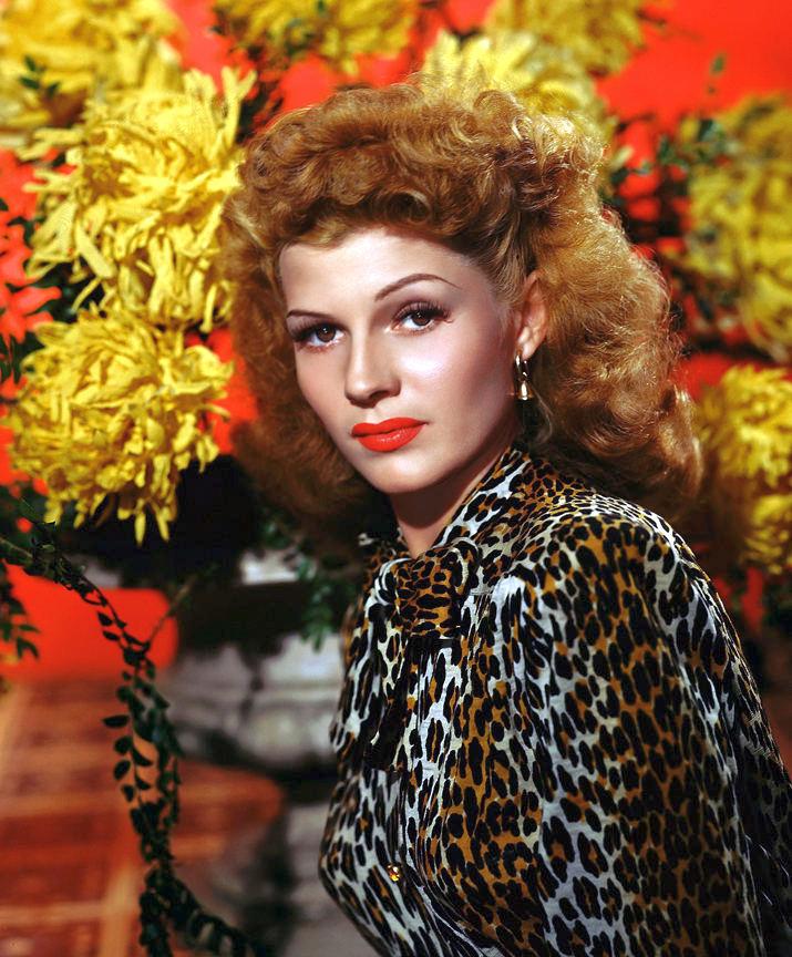 Rita Hayworth in living colour,1940s