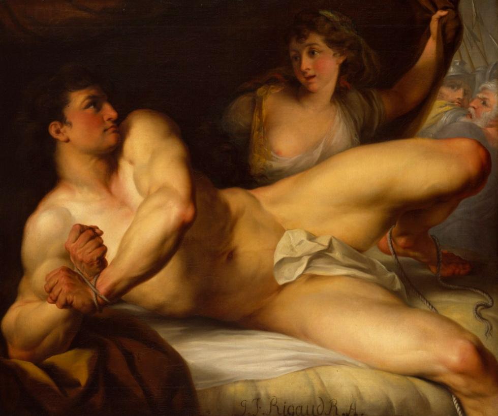 Sampson and Delilah by John FrancisRigaud