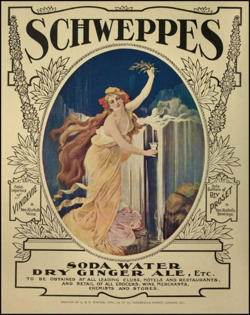 Schweppes, circa 1900