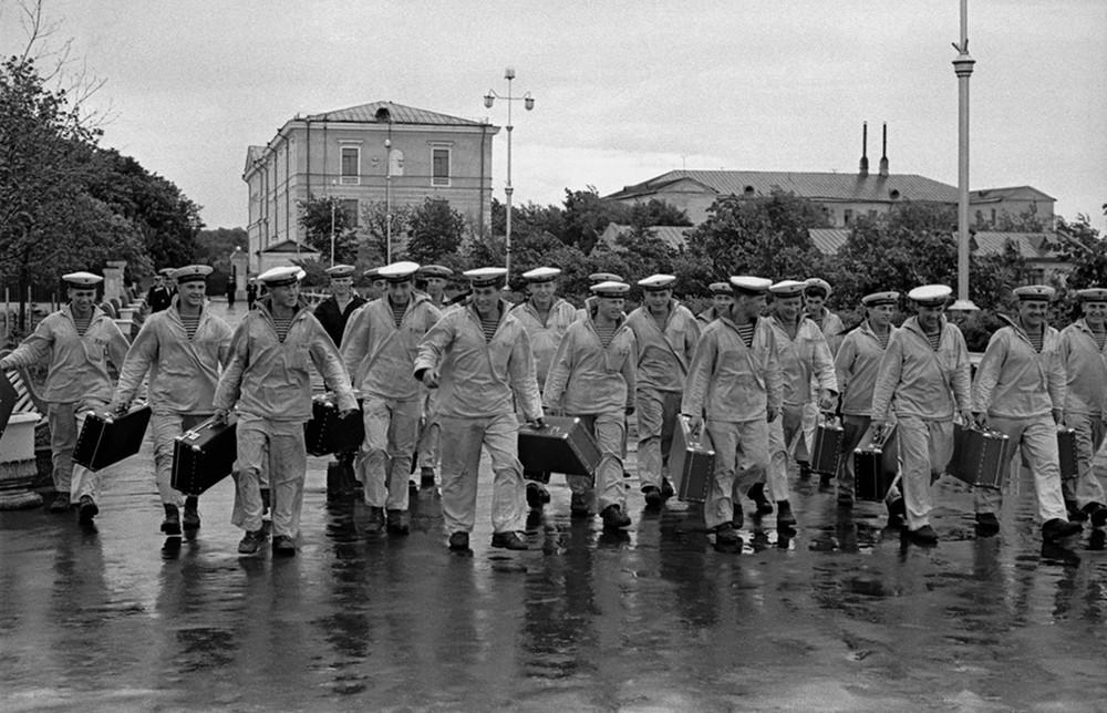 Soviet sailors, 1950s