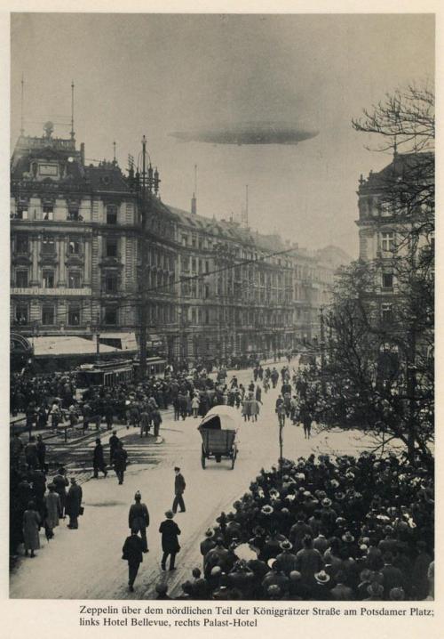Zeppelin over Berlin,1910