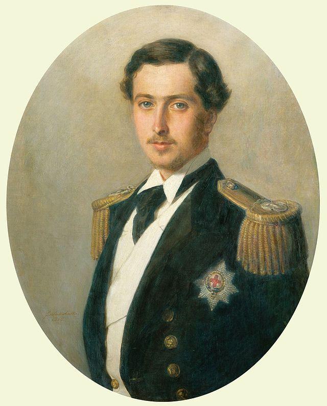 Alfred, Prince of Great Britain & Ireland, by  Franz Xaver Winterhalter,1865
