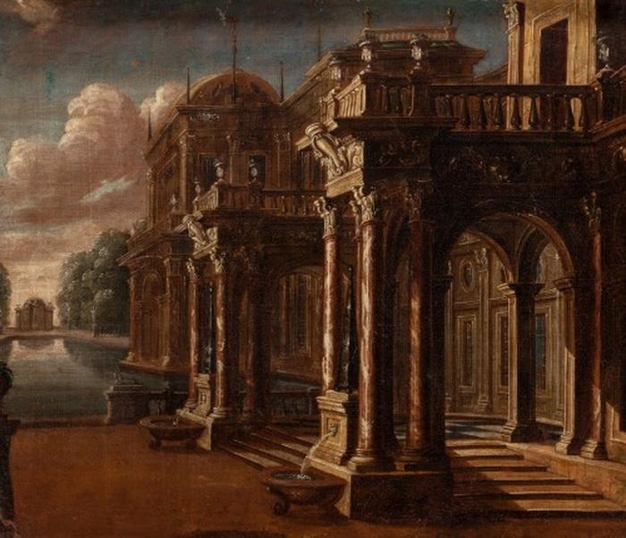 Portico, 1700s