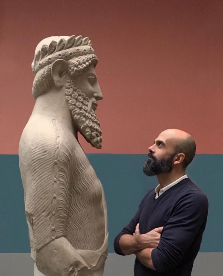 When ancient and modern beardsmeet