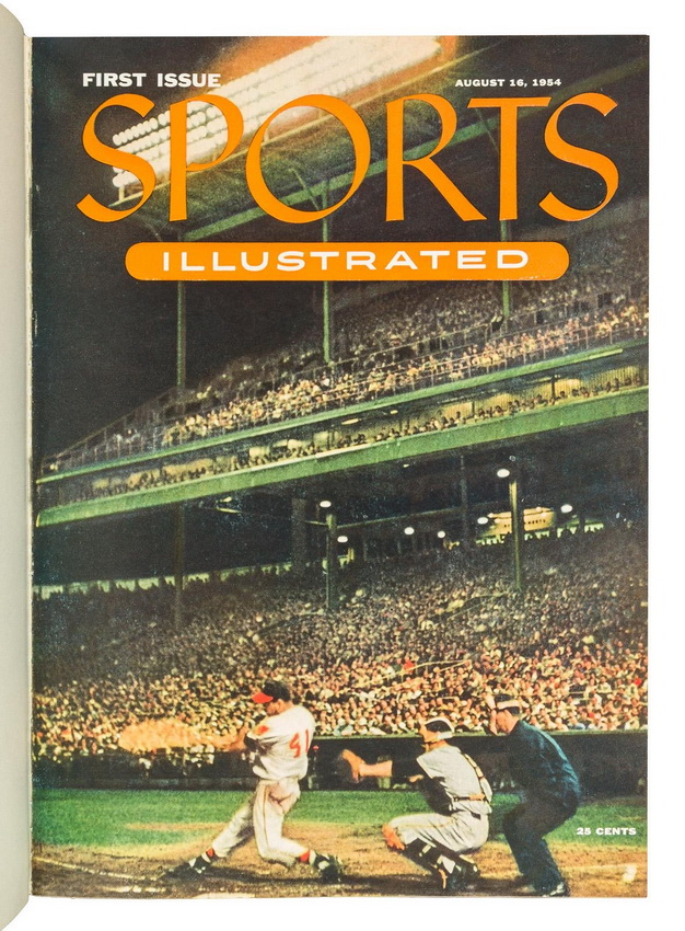 First issue of Sports Illustrated,1954