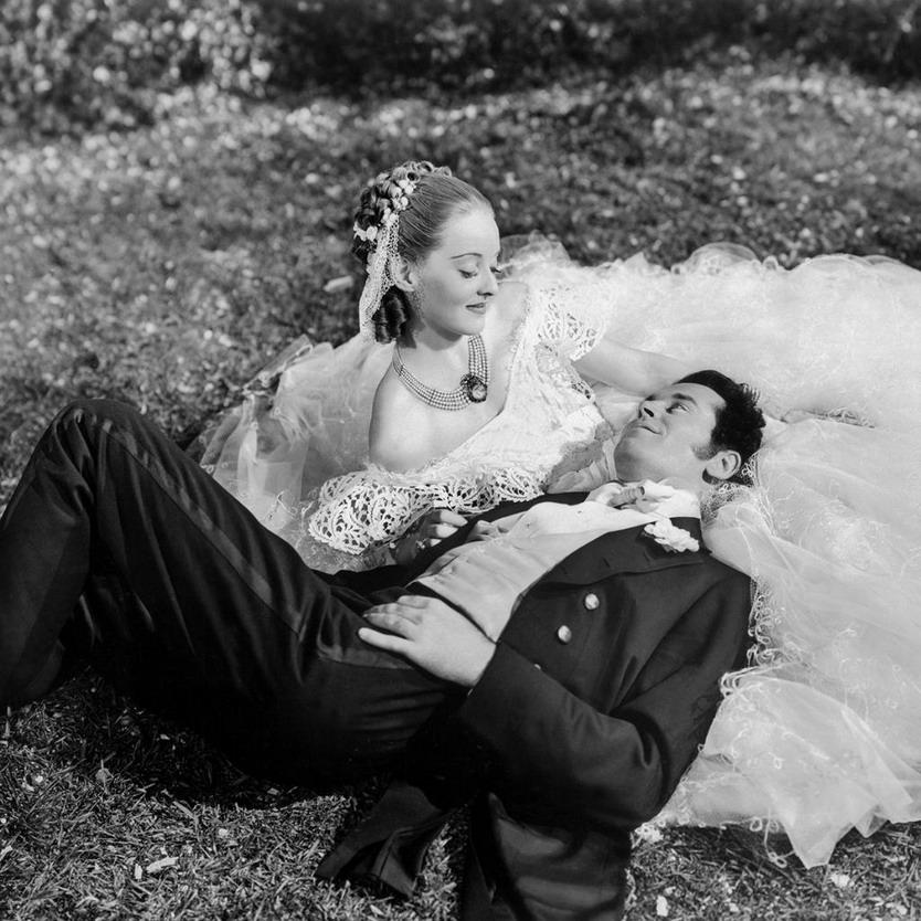 "Bette Davis and Henry Fonda in ""Jezebel"", 1938"
