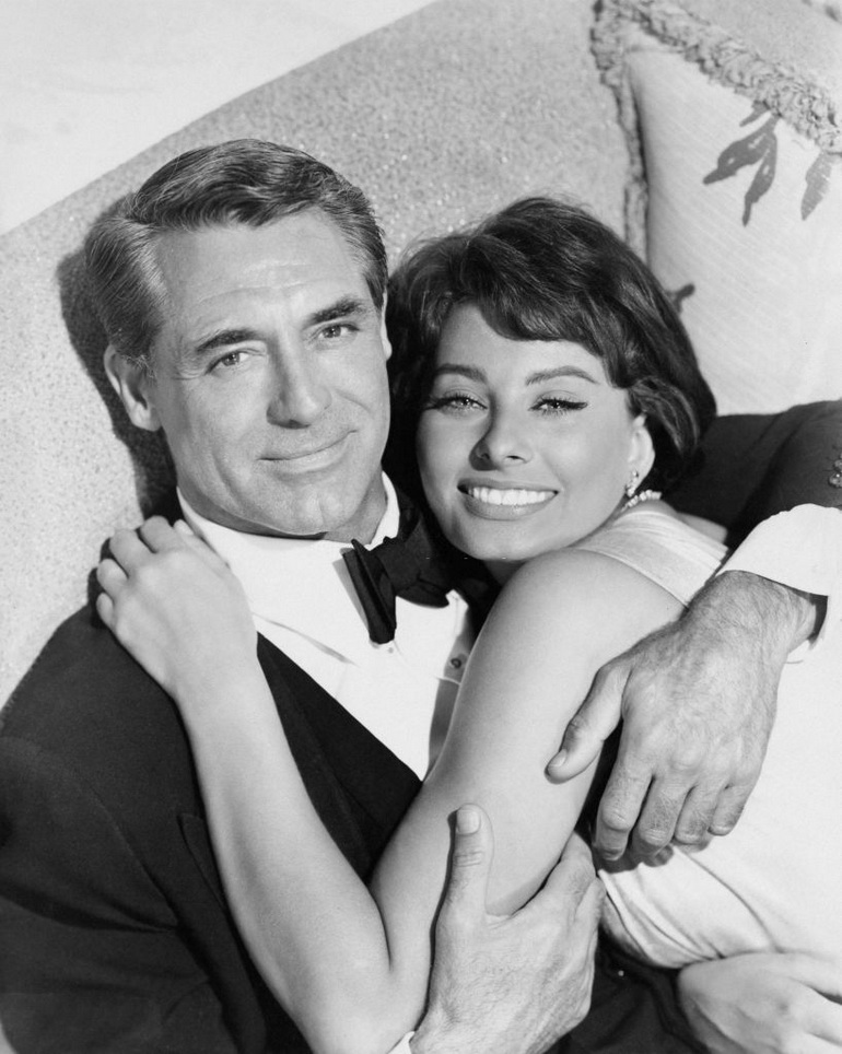 Cary Grant and Sophia Loren,1950s