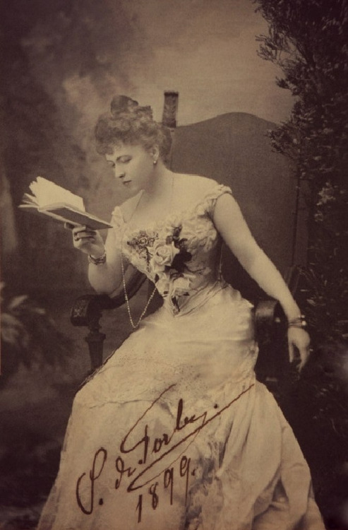 Countess Sophie Torby (Grand Duke Michael Mikhailovich's wife), Russia,1899