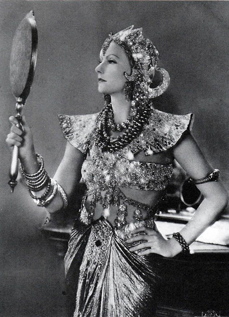 Greta Garbo as MataHari