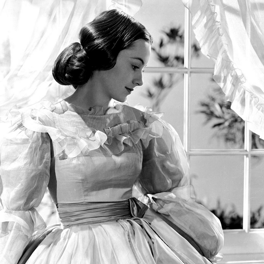 """Olivia DeHaviland in """"Gone With the Wind"""",1939"""