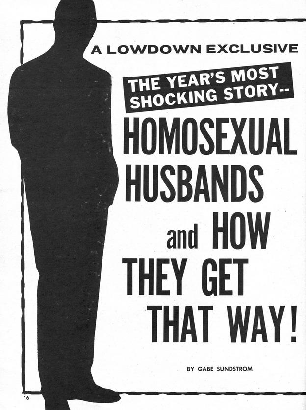 Homosexual Husbands!