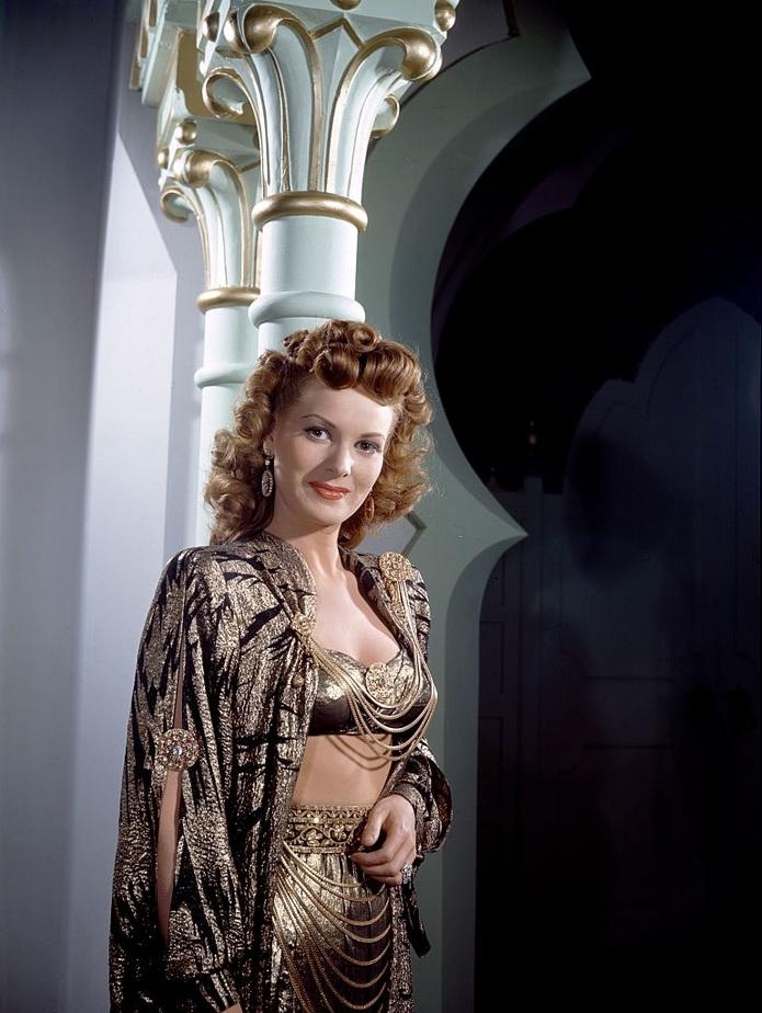 "Maureen O'Hara in ""Sinbad"", 1947"