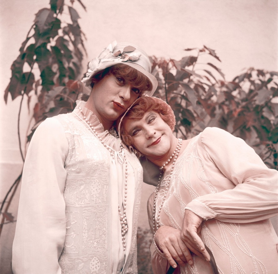 """Tony Curtis and Jack Lemmon in """"Some Like It Hot"""",1959"""