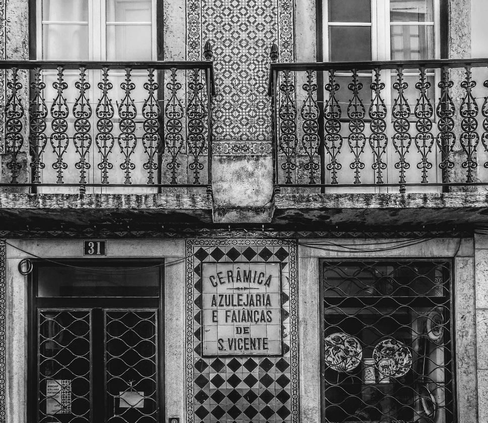 Building façade, Spain