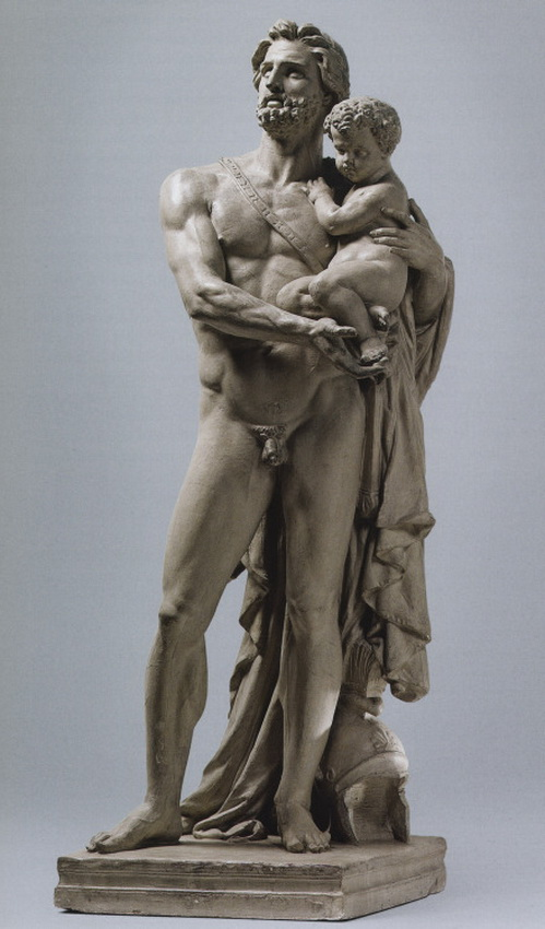 Hector and his son Astyanax by Jean-BaptisteCarpeaux