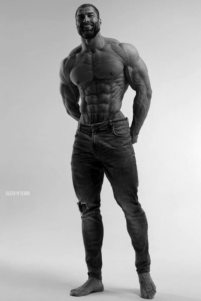 TALL AND MUSCULARMODEL