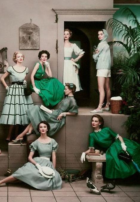 Women's fashion, 1950s