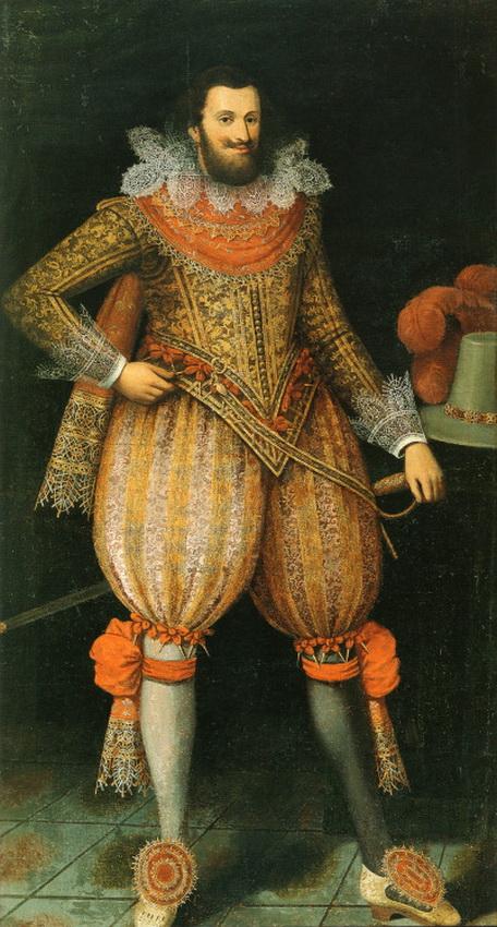 Daniel von Block's portrait of Johann Albrecht II, Duke von Mecklenburg-Güstrow, 1620
