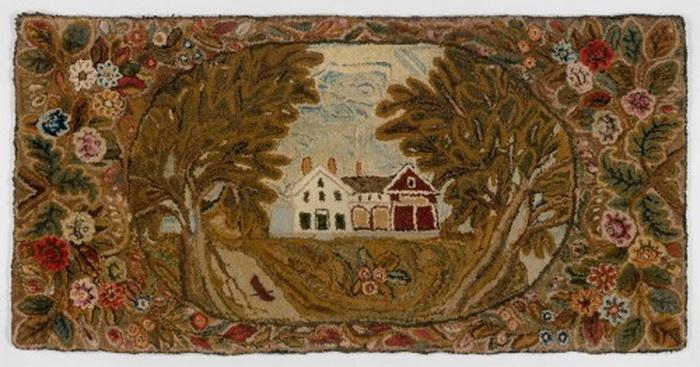 Americana needlework, 1800s