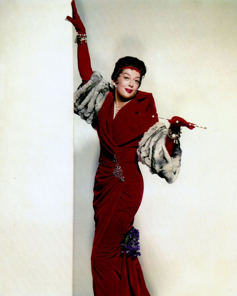 Rosalind Russell as AuntieMame