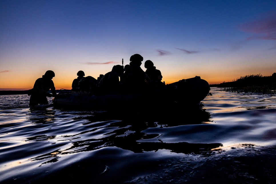 British Navy training in Lithuania,2021