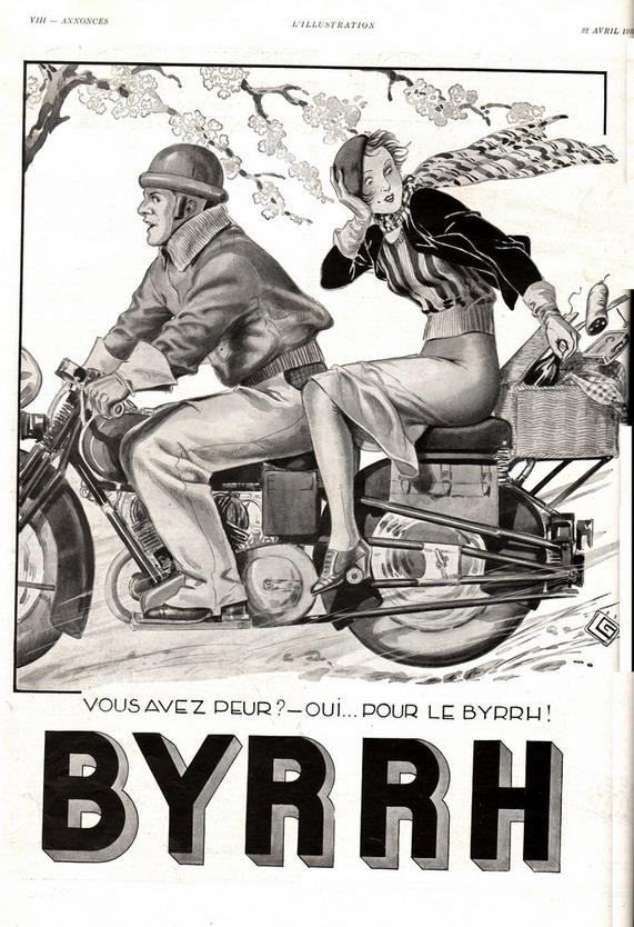 Byrrh ad, 1930s