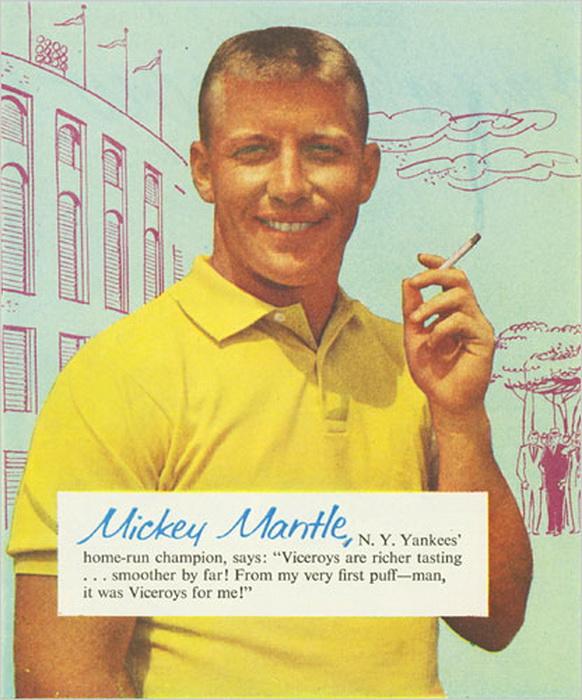 When athletes used to promote smoking andaddiction
