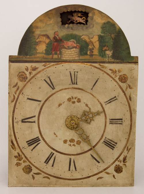 Clock made in the US,1700s