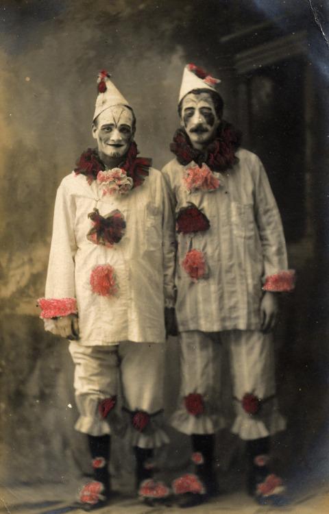 Clowns, 1800s