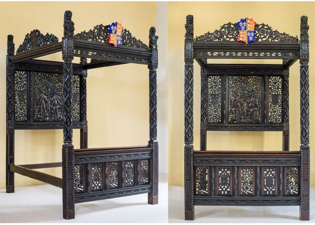 Marriage bed of King Henry VII, England,1486
