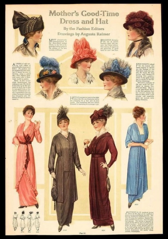 Mother's Good-Time Dress andHat