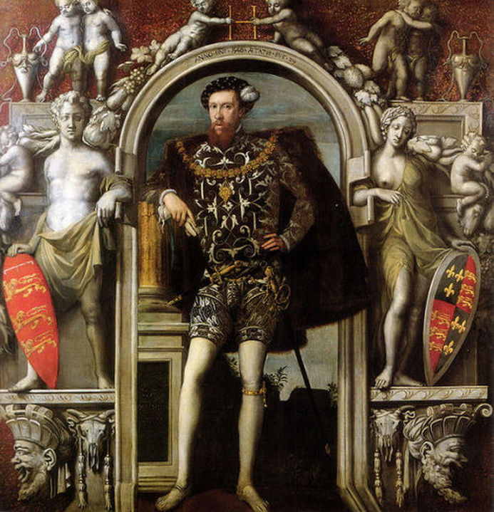 Henry Howard, Earl of Surrey by William Scrots,1546