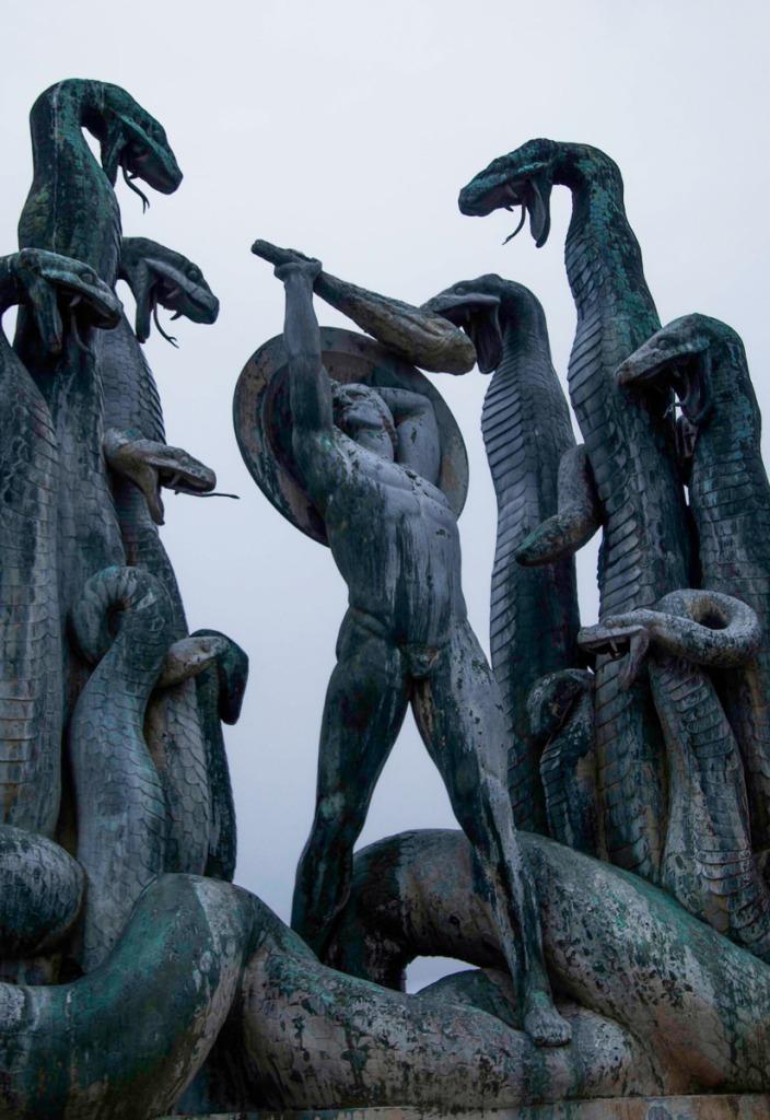 Hercules battling theHydra