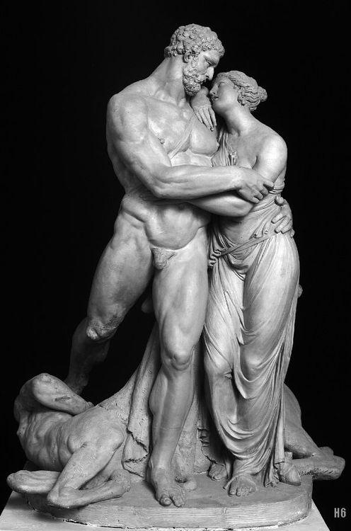 Hercules and Deianira by Pietro Finelli,1801