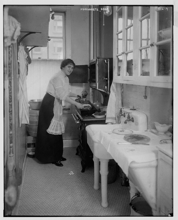 """From """"The Efficient Kitchen of1914"""""""