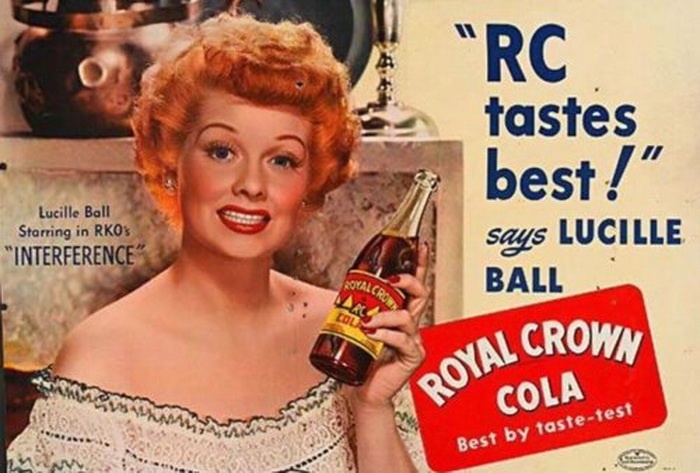 Lucille Ball for RCCola