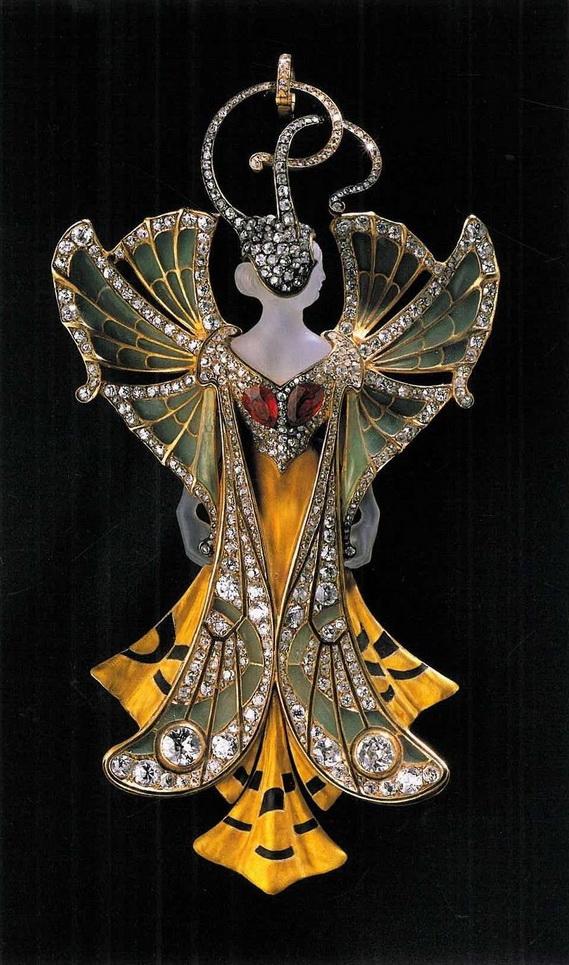 Art nouveau jewelry by Maison Vever,Paris
